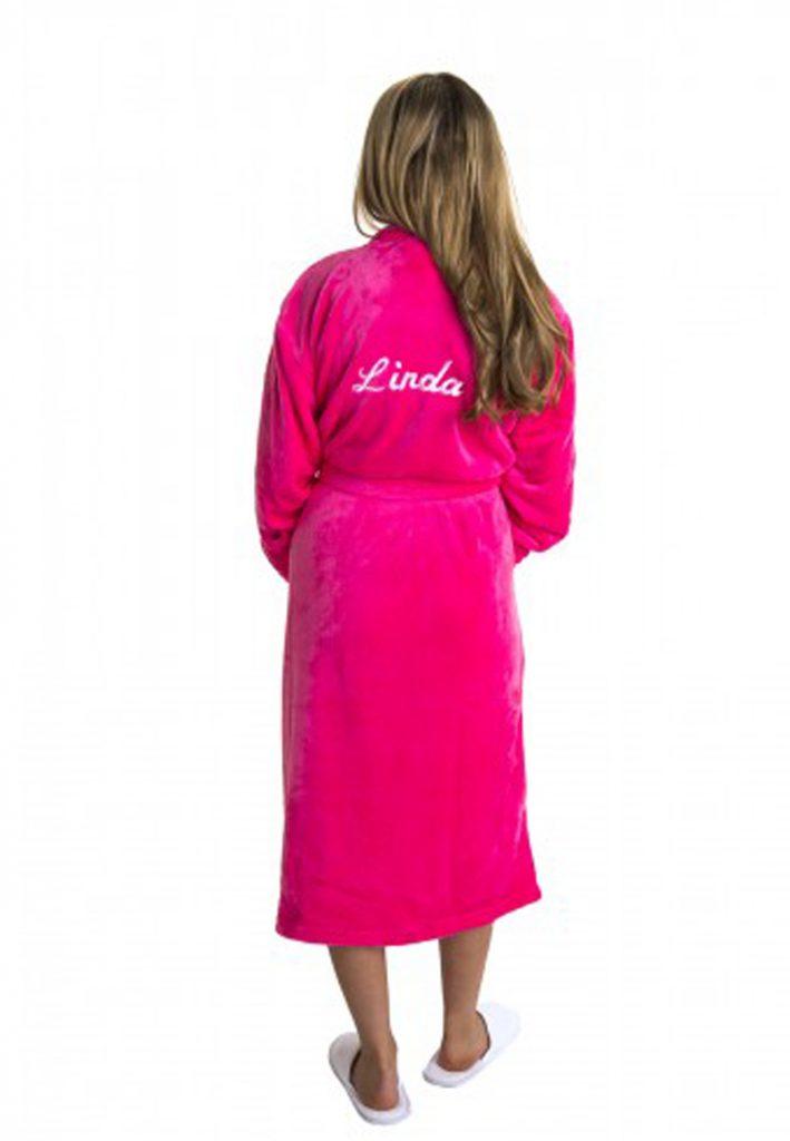 Dames badjas met naam